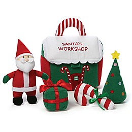 GUND® Santa's Workshop Plush Playset