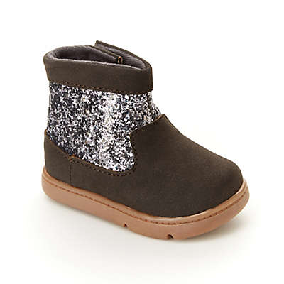 carter's® Glitter Every Step Boot in Tan