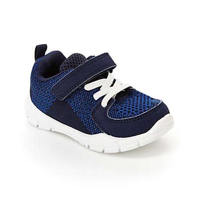 carter's® Two Tone Knit Sneaker in Blue