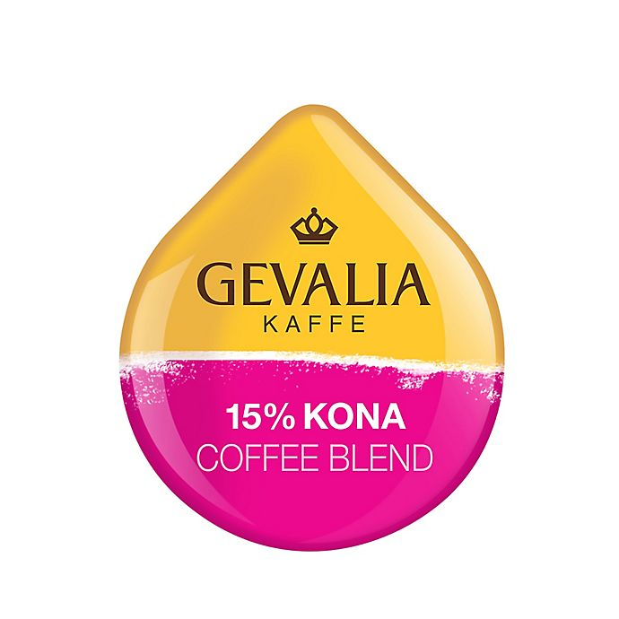 Alternate image 1 for Gevalia 16-Count 15% Kona Coffee T DISCs for Tassimo™ Beverage System