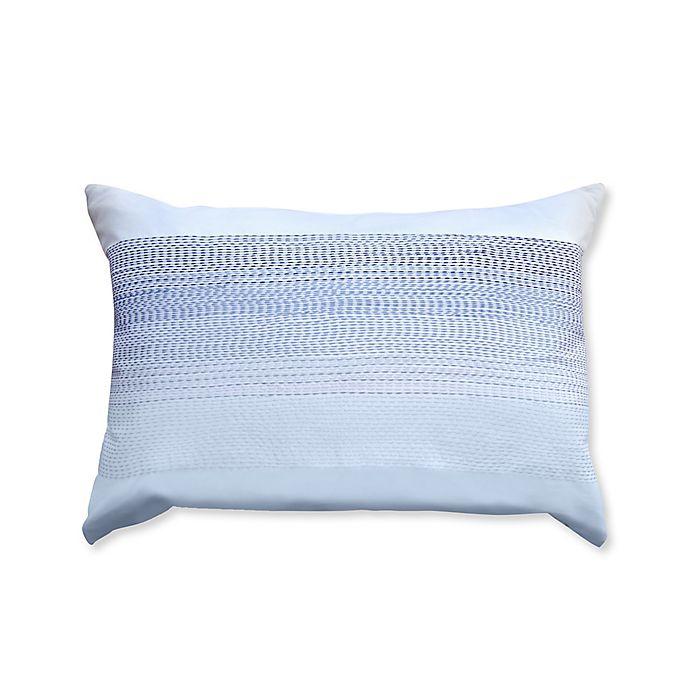 Alternate image 1 for Canadian Living Cape Breton Oblong Throw Pillow in Blue