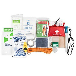 Life Gear® 130-Piece Dry Bag First Aid and Survival Kit