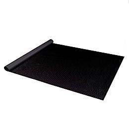 Diamond Deck® 7.5' Wide Textured Roll Out Garage Mat in Black