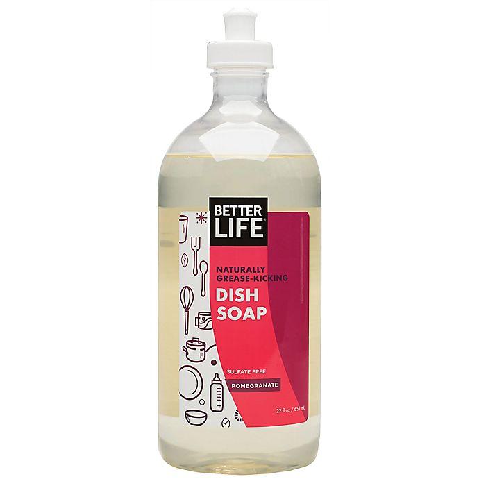 Alternate image 1 for Better Life® 22 Oz. Dish Soap in Pomegranate