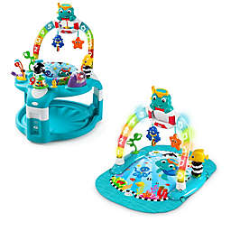 Baby Einstein™ 2-in-1 Lights & Sea Activity Gym & Saucer