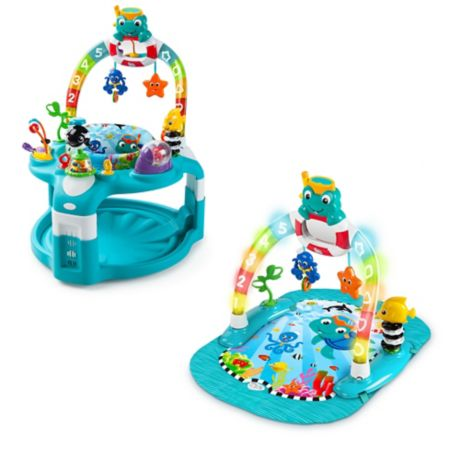 fcacecb8b879 Baby Einstein™ 2-in-1 Lights   Sea Activity Gym   Saucer