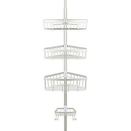 Richards Homewares Steel Tension Corner Shower Caddy