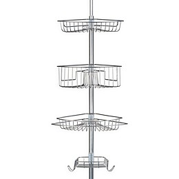 Richards Homewares Lakeview 4-Tier Tension Pole
