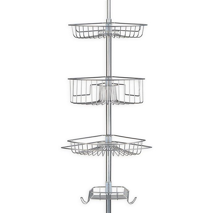 Alternate image 1 for Richards Homewares Lakeview 4-Tier Tension Pole