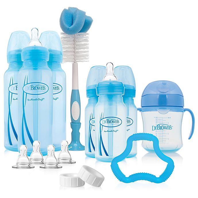Alternate image 1 for Dr. Brown's® Options Bottle Gift Set in Blue