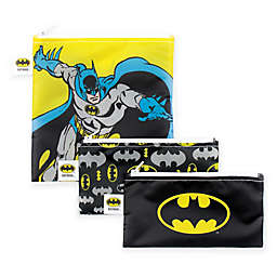 Bumkins® DC Comics™ Batman 3-Piece Reusable Snack Bags Set