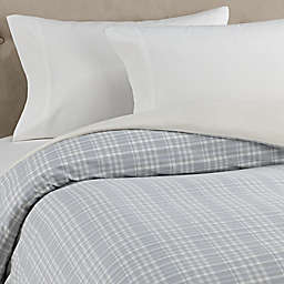 The Seasons Collection® HomeGrown™ Plaid Flannel Duvet Cover in Neutral