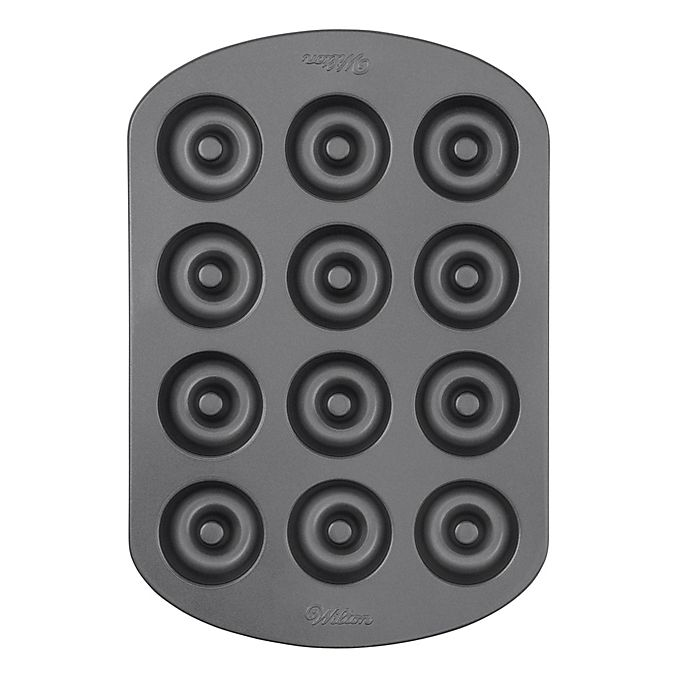 Alternate image 1 for Wilton® Nonstick 12-Cavity Mini Doughnut Pan