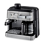 De'Longhi BCO330T Combination Steam Espresso Drip Coffee Cappuccino and Latte Machine in Silver