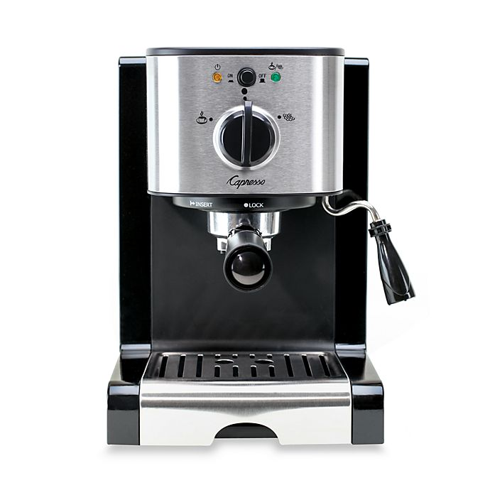 Alternate image 1 for Capresso® EC100 Pump Espresso & Cappuccino Machine