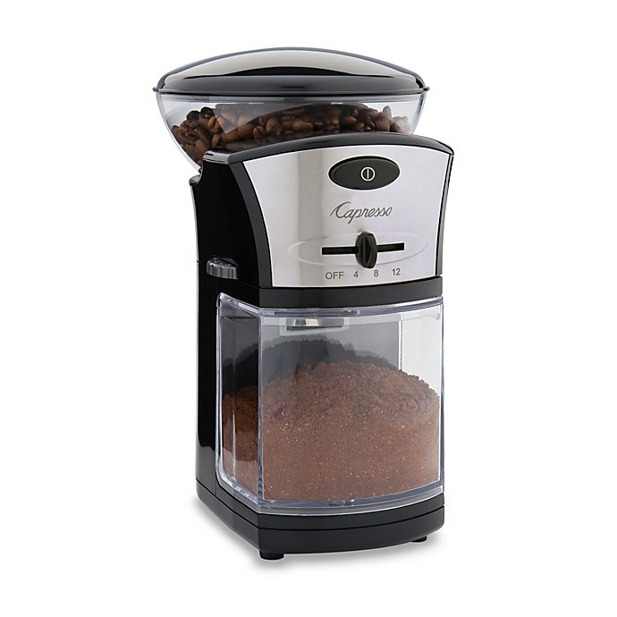 Alternate image 1 for Capresso® Disk Coffee Burr Grinder
