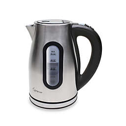 Capresso® H2OPro Brushed Programmable Cordless Water Kettle