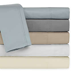 Rich Solid 400-Thread-Count Pillowcases (Set of 2)
