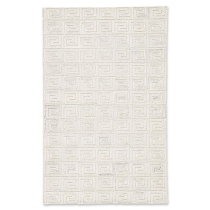 Alternate image 1 for Jaipur Harkness 5' x 8' Area Rug in White