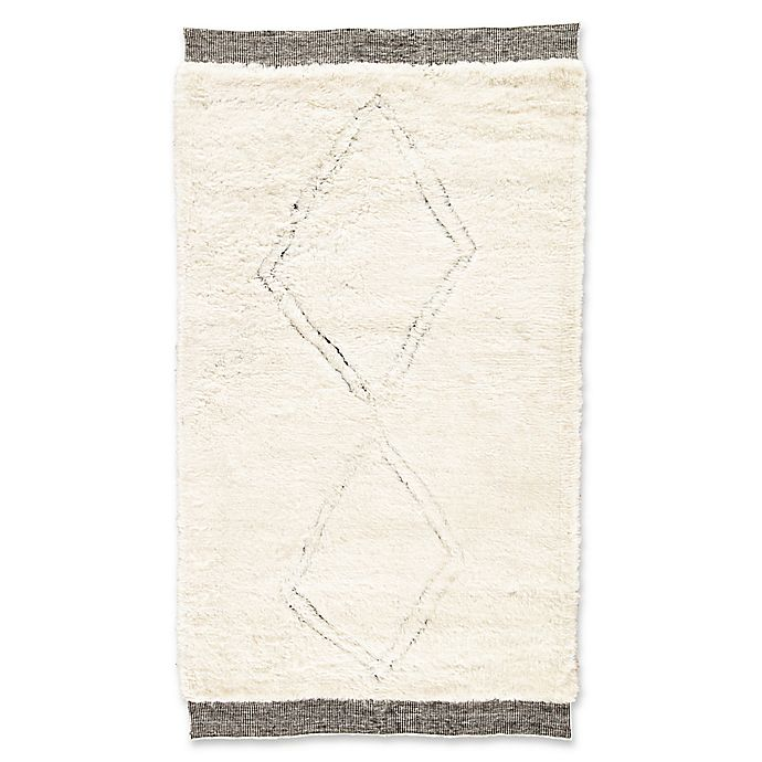 Alternate image 1 for Jaipur Living Ephesus 8' x 11' Hand-Knotted Area Rug in Ivory