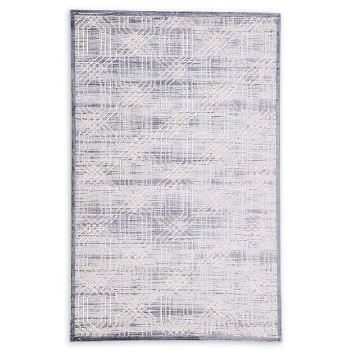 Alternate image 1 for Jaipur Carlyle Trellis 9' x 12' Area Rug in Grey