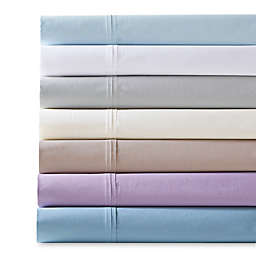 Madison Park 200-Thread-Count Peached Percale Cotton Sheet Set