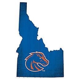 Boise State University Team Color Logo State Sign