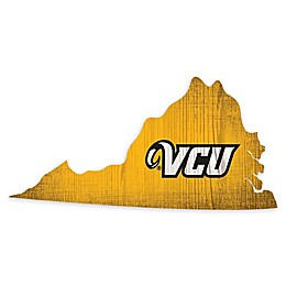 Virginia Commonwealth University Team Color Logo State Sign