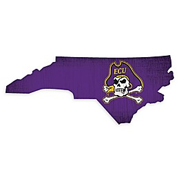 East Carolina University Team Color Logo State Sign