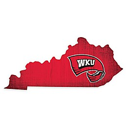 Western Kentucky University Team Color Logo State Sign