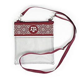Texas A&M University Floral Clear Crossbody Bag