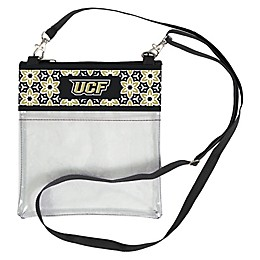 University of Central Florida Floral Clear Crossbody Bag