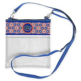University of Florida Floral Clear Crossbody Bag