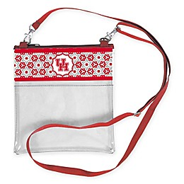 University of Houston Floral Clear Crossbody Bag