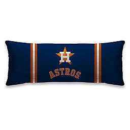 MLB Houston Astros Microplush Logo Body Pillow