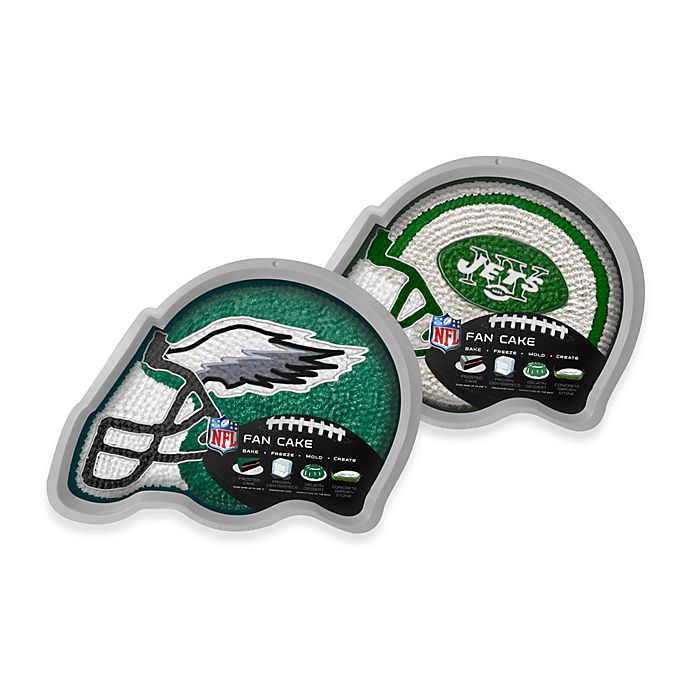 Alternate image 1 for NFL Fan Cake Silicone Cake Pan Collection