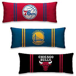 NBA Microplush Logo Body Pillow