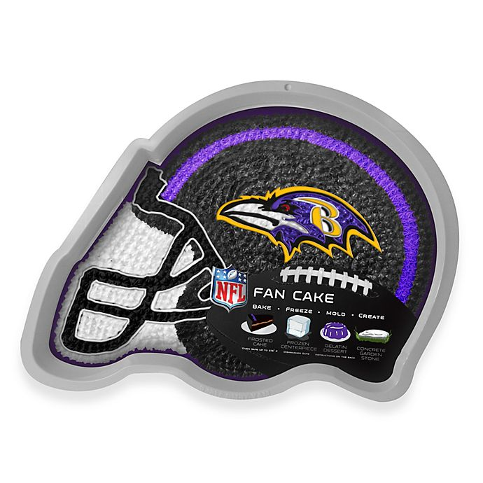 Miraculous Nfl Baltimore Ravens Fan Cake Silicone Cake Pan Bed Bath Beyond Birthday Cards Printable Opercafe Filternl