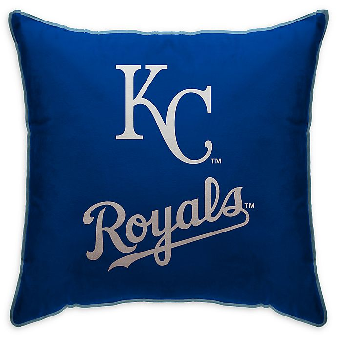 Alternate image 1 for MLB Kansas City Royals Logo Throw Pillow