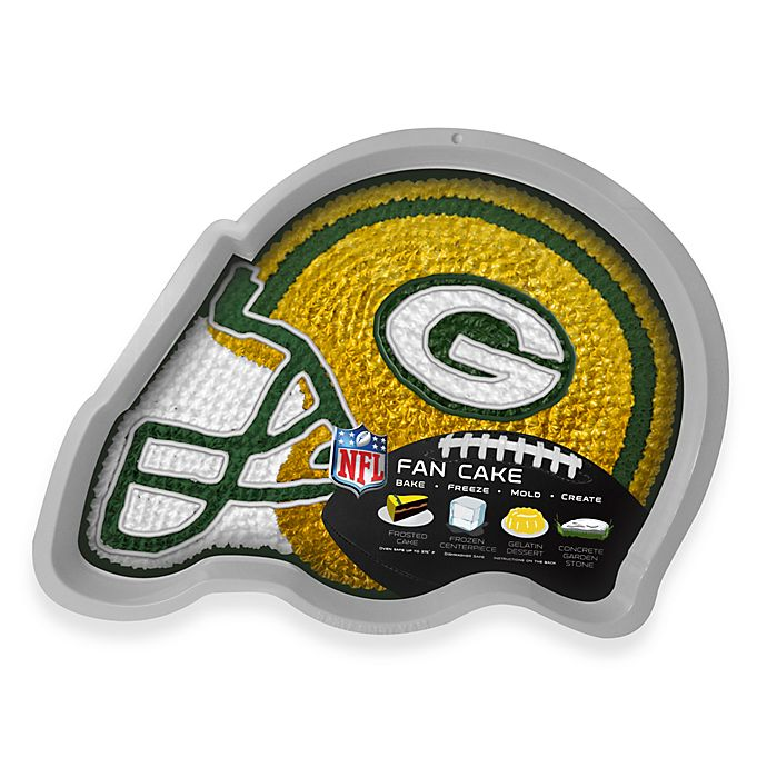 196297db818 NFL Green Bay Packers Fan Cake Silicone Cake Pan