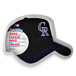 MLB Colorado Rockies Fan Cake Silicone Cake Pan