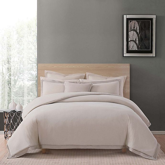 Charisma Luxe Cotton Linen Comforter Set Bed Bath Amp Beyond