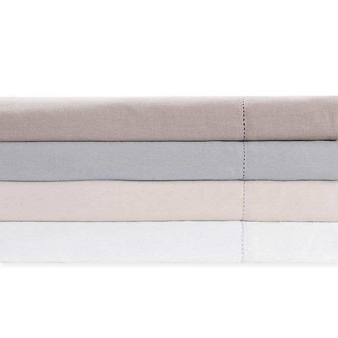 Alternate image 1 for Charisma Luxe Cotton Linen Sheet Set