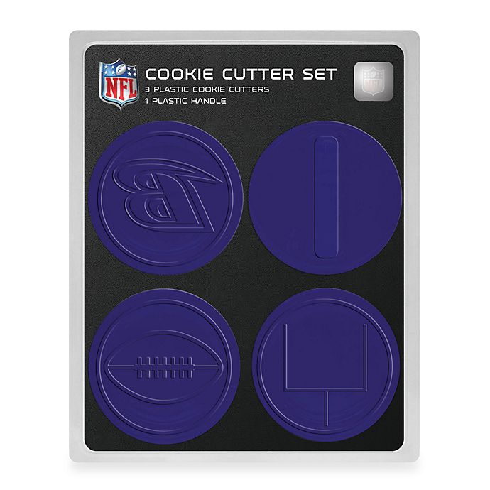 NFL Cookie Cutter Set in Baltimore Ravens  c9aecc46f33