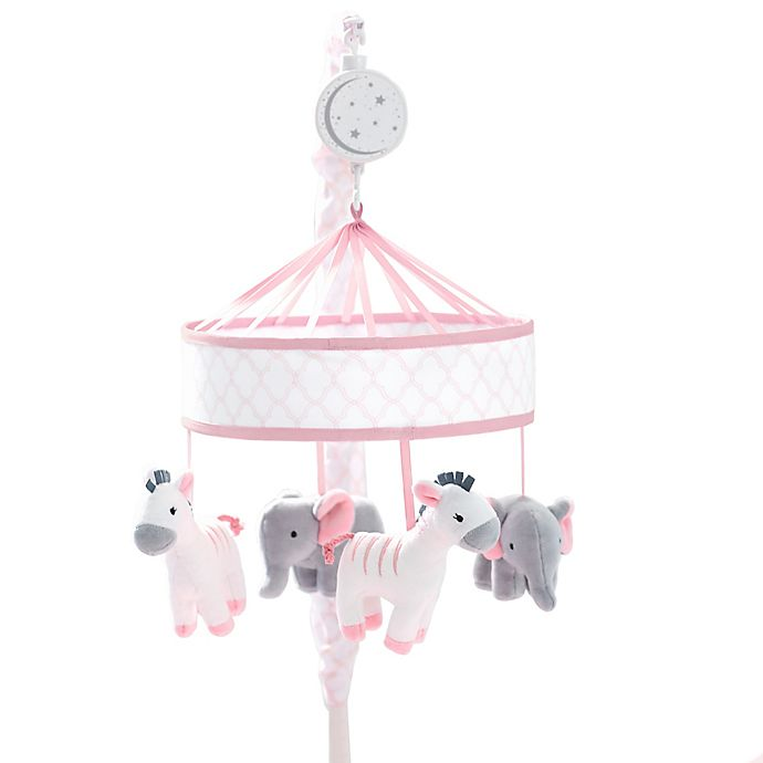 Alternate image 1 for Just Born® Dream Musical Mobile in Pink/White