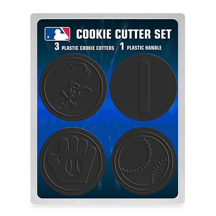 Alternate image 1 for MLB Chicago White Sox Cookie Cutter Set