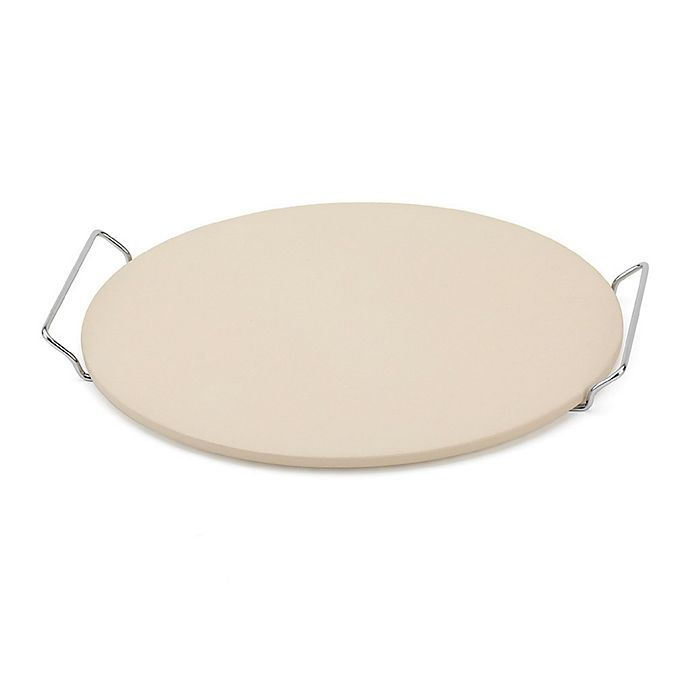 Alternate image 1 for Bialetti 2-Piece Pizza Stone and Rack Set