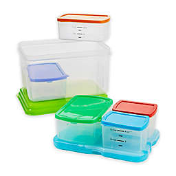 Fit & Fresh® 7-Piece Healthy Lunch Food Storage Container Set