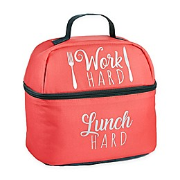 Fit & Fresh® Alameda Work Hard Lunch Hard Neoprene Bag in Pink