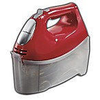 Hamilton Beach® Ensemble Hand Mixer with Snap-On Closure in Red